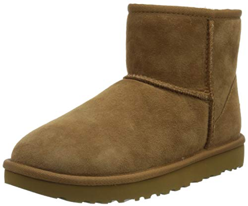 Deckers Europe Ltd trading as UGG UGG Damen W Classic Mini Ii Stiefeletten, Braun (Chestnut), 37 EU