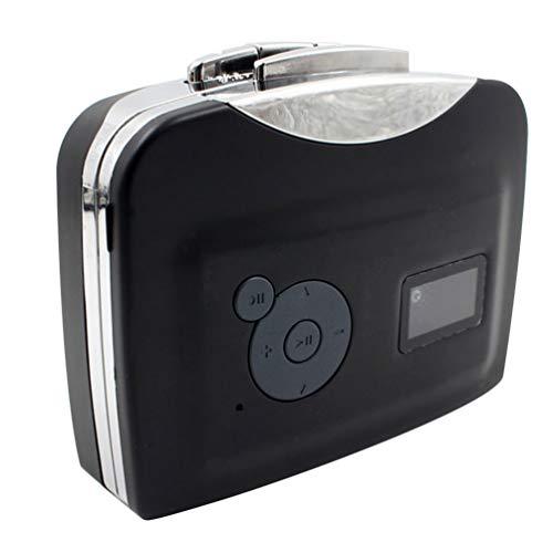 ULTECHNOVO Reproductor de Cassette Convertidor de Cassette Usb a Mp3 Reproductor de...