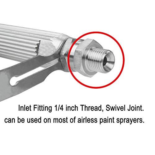 DUSICHIN DUS-036 Airless Paint Spray Gun, High Pressure 3600 PSI 517 TIP Swivel Joint
