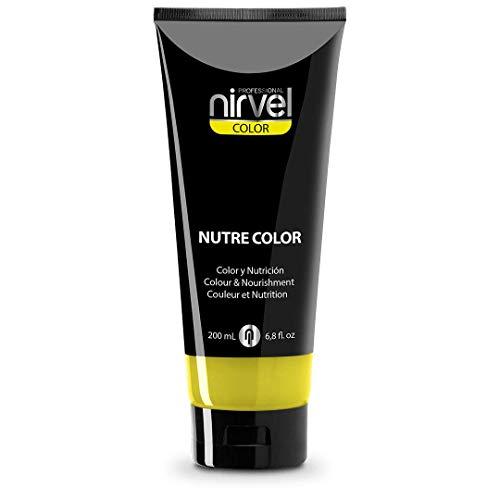 Nirvel NUTRE COLOR Flúor limón 200 mL Mascarilla Profesional - Coloración temporal - Nutrición y brillo