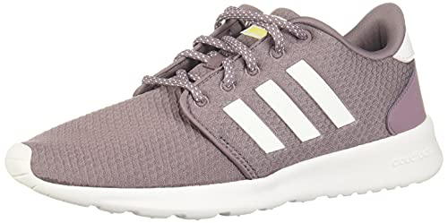 adidas Qt Racer, Women's Running Shoe, Legacy Purple/Ftwr White/Shock Yellow, 5.5 UK (38 2/3 EU)