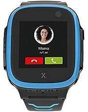 Xplora X5 NanoSIM Smartwatch voor kinderen (zonder SIM) 4G - oproepen, berichten, schoolmodus, SOS-functie, GPS-locatie, camera, 2 jaar garantie (blauw)