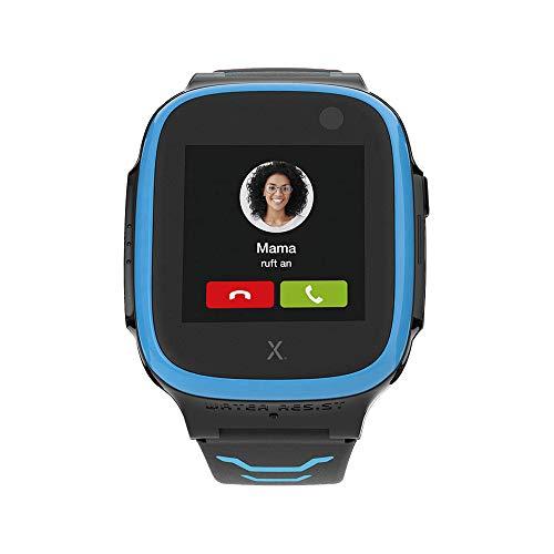 Xplora X5 NanoSIM Smartwatch für Kinder (ohne SIM) 4G - Anrufe, Nachrichten, Schulmodus, SOS Funktion, GPS Location, Kamera, 2 Jahre Garantie (blau)