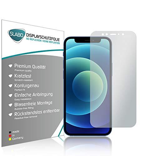 Slabo 4 x Bildschirmschutzfolie für iPhone 12 Mini Bildschirmfolie Schutzfolie Folie Zubehör No Reflexion MATT
