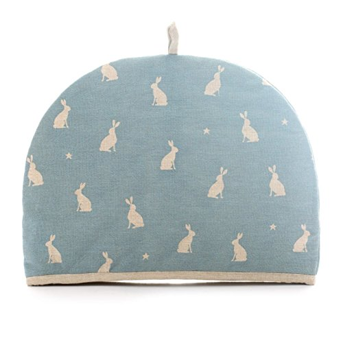 Dexam 16150300 Star Gazing Hare Blue T Cosy 2 Cup, Polyester