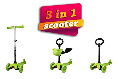 Kenrod - Trottinette 3roues pour enfant entre 2et 14ans d