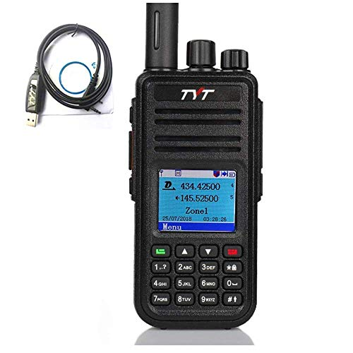 TYT MD-UV380 Dual Band VHF/UHF Handheld DMR Two Way Radio