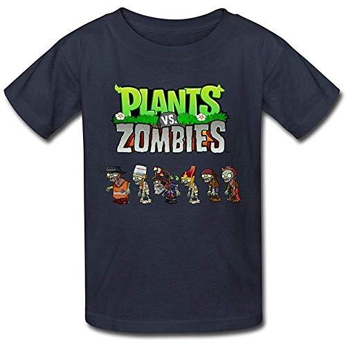 Bwef Short Sleeve Geek Plants Vs. Zombies Men T-Shirts (Size:XL