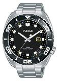 Pulsar Reloj analogico para Hombre de Cuarzo con Correa en Acero Inoxidable PG8283X1