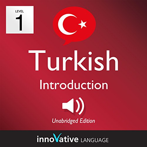 Learn Turkish - Level 1: Introduction to Turkish audiobook cover art