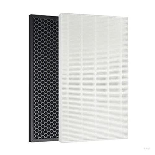 SONGHUA 11 1 Set (2pcs) Filtro de purificación de Aire Activado Carbono Adecuado para Samsung AX034FPXBWQ / AX034EPXAUW / AX0347HPAWQ / AC405CPAWQ