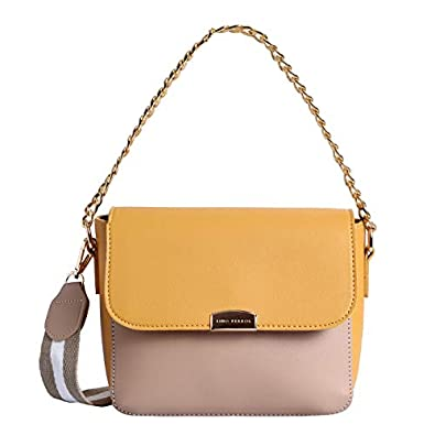 Lino Perros Faux Leather Sling Bag