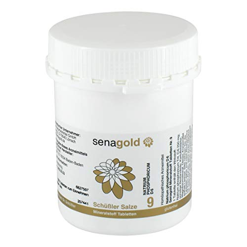 Schuessler Salz Nr. 9 - Natrium phosphoricum D6-1000 Tabletten, glutenfrei