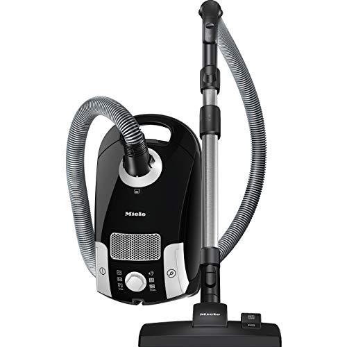 Miele (ミーレ) キャニスター掃除機 Compact C1 SCAO 3 OB HomeCare/オブシディアンブラック [ 正規販売店 ] (ベーシックモデル / 付属品4種類 / ノズル3種類 付属)