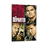 TONGDIAN The Departed Matt Damon Passion Filmposter,
