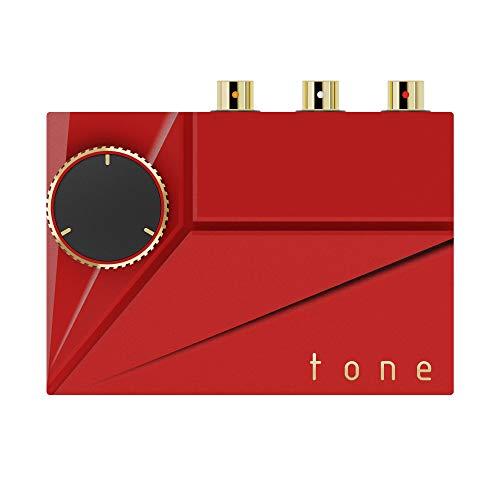 Khadas Tone 2 Pro MQA Balanced Portable DAC Kopfhörerverstärker (Red)