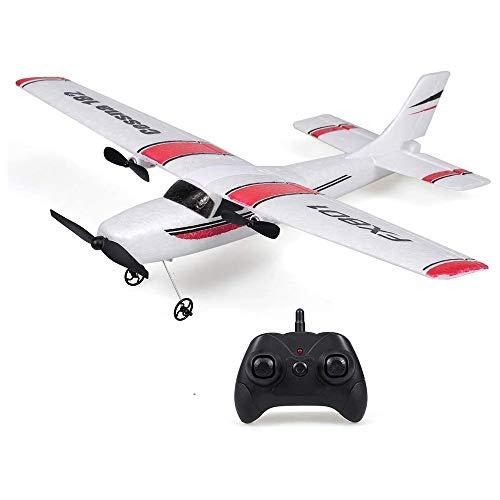 Gigicloud FX801 Flugzeug Cessna 182 2CH RC Flugzeug Flugzeuge Outdoor Flug Spielzeug für Kinder Jungen