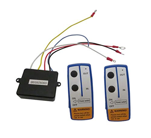 Read About DEEPSOUND 2pcs 12V Recovery Wireless Winch Remote Control Handset Switch