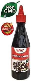 Oyster Sauce, Non GMO Shirakiku, 18 oz Squeeze Bottle with twist cap
