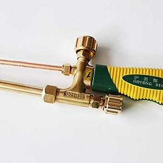 dos colores puros duraderos del cobre pistola de soldadura gas acetileno antorcha mango oxígeno