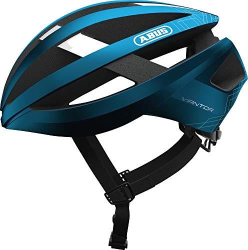 ABUS Viantor - Casco de bicicleta, Unisex , Azul, M (52-58 cm)