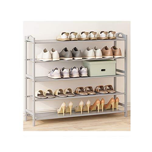 HYAN Zapatero Zapatos multifuncionales Rack Pielo Libre Estante de Zapatos Almacenamiento Organizador Zapatos de Entrada El gabinete Tiene 20-24 Pares de Zapatos Caja de Zapatos (Color : 5 Layers)