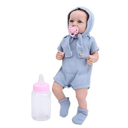 Annjom Babypuppe, niedliches künstliches Haarpuppenspielzeug, für Babykinder