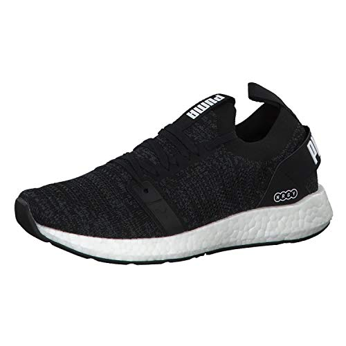 PUMA Damen NRGY Neko Engineer Knit WNS Laufschuhe, Schwarz Black White, 40 EU