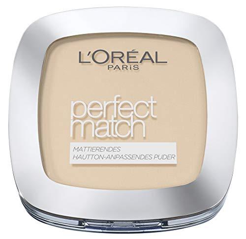 L'Oréal Paris Perfect Match Puder Nr. 2.N Vanille, 1er Pack (1 x 9 g)