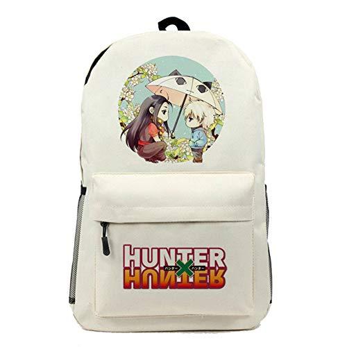 Gumstyle Hunter X Hunter Anime Casual Daypack Rucksack Sporttasche für kurze Ausflüge, Beige -3 (Beige) - PHF1A694-18