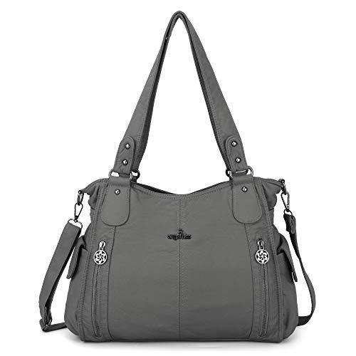 ZOCAI Women's Handbag Handbag Elegant Large Women's Shoulder Bag for Office School Shopping