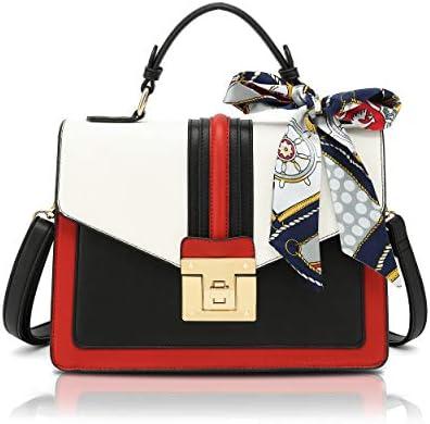 Scarleton Medium Top Handle Satchel Handbag for Women Vegan Leather Crossbody Bag Shoulder Bag product image