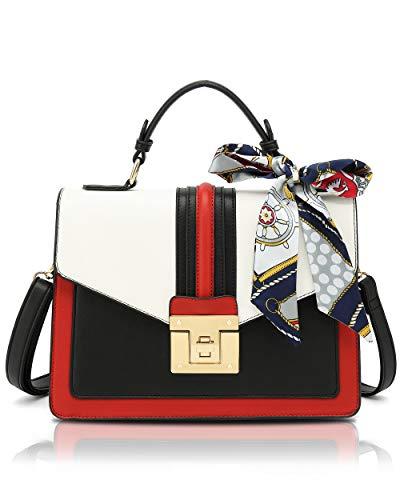 Scarleton Medium Top Handle Satchel Handbag for Women, Purses for Women, Tote bag, H2065