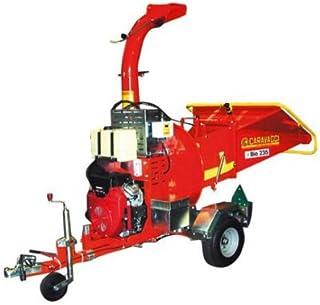 Caravaggi Triturador térmico Bio 235H RN–Honda GX670Pro–diámetro 12cm–Sobre Remolque 80km/h