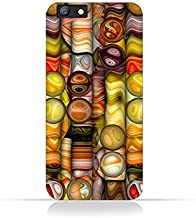 Oppo A57 TPU Silicone Case With Abstract Bubble Background