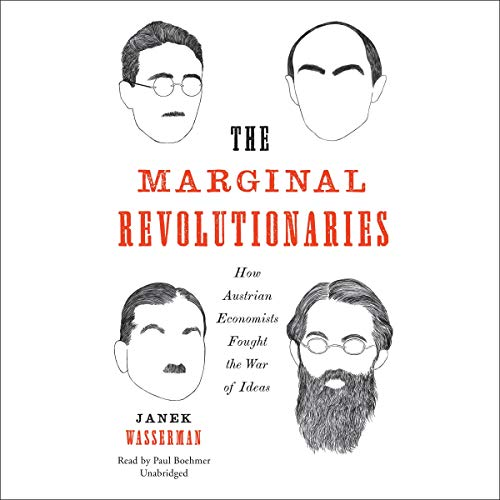 The Marginal Revolutionaries audiobook cover art