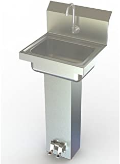 foot pedal operated hand sink