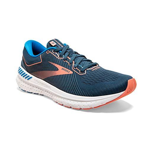 Brooks Transcend 7 buty damskie do biegania, niebieski - Blau Majolica Navy Desert - 36.5 EU