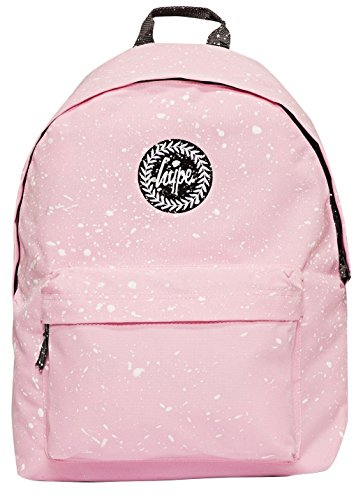 Hype Backpack Bags Rucksack | School Bag | Baby Pink with White Speckle