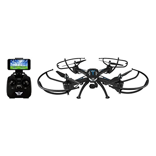 GPX 6-Axis Condor Pro Drone with Wi-Fi Camera, 4-Channel Direction Control, 300-Foot Control Distance (DRW876)