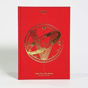 LABEL V WayV - Take Over The Moon (2nd Mini Album) CD+124p Photobook+Photocard+Circle Card+Folded Poster+Double Side Extra Photocards Set
