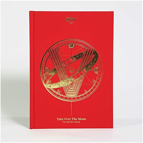 LABEL V WayV - Take Over The Moon (2nd Mini Album) CD+124p Photobook+Photocard+Circle Card+Folded Poster+Double Side… |