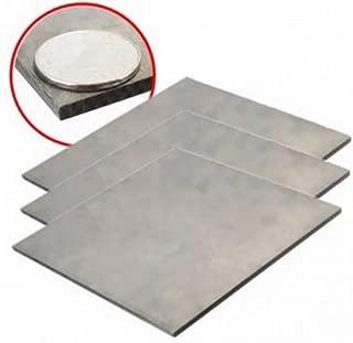 Titanium Alloy Plate TC4/GR5 Titanium Plate 4×150×150mm by GokuStore