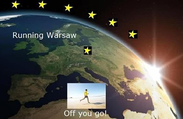Running Warsaw (Running the EU Book 27) (English Edition)