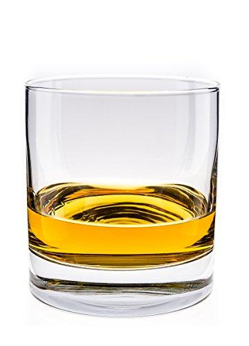 Arcoroc ARC 59947 Islande Whiskyglas, 380 ml, Glas, transparent, 6 Stück