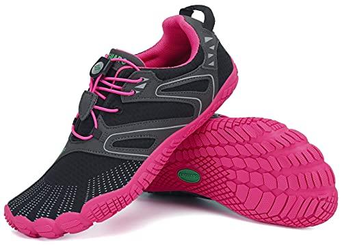 SAGUARO Zapatillas de senderismo para hombre y mujer, minimalistas, para deportes acuáticos al aire libre, tallas 36-48, color, talla 42 EU