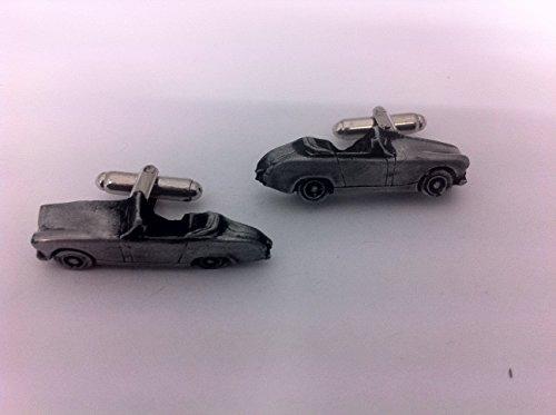 Austin Healey Sprite Mk2 3D-Boutons de manchette Homme-Classique-Bouton de manchette en étain Effet ref17