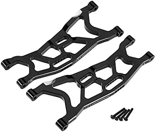 Hot Racing YEX5501 Aluminum Front A-Arms, schwarz  Axial Yeti XL by Hot Racing