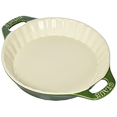Staub 40508-617 Bakeware-Pie-Pans Dish, 9 , Basil