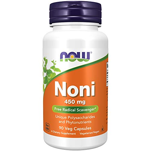 NOW Supplements, Noni (Morinda citrifolia) 450 mg, Free Radical Scavenger*, 90 Veg Capsules